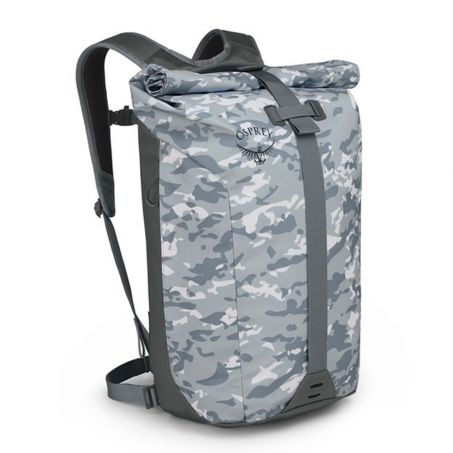 Transporter Roll Backpack - Camo Slate Grey