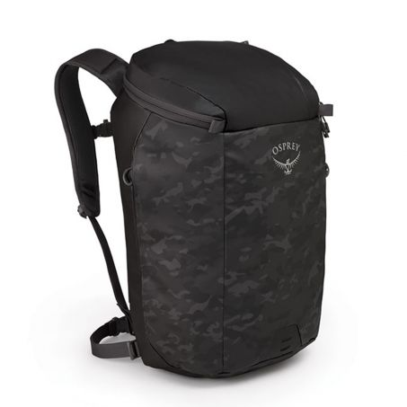 Transporter Zip Backpack - Camo Black