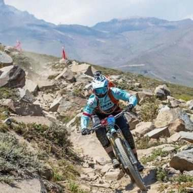 2017-02-28 Osprey athlete @tracy_moseley took home the win at @andespacifico this month!
