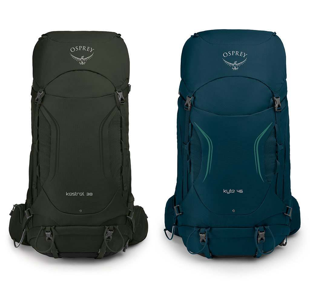 Kestrel & Kyte Backpacking Packs