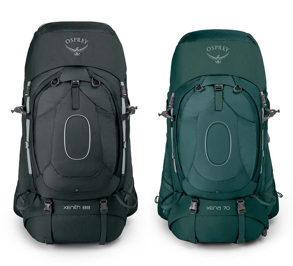 Xenith & Xena Backpacking Packs